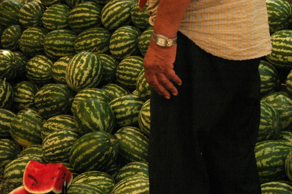 Market Watermelons